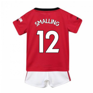 2019-2020 Man Utd Adidas Home Baby Kit (SMALLING 12)