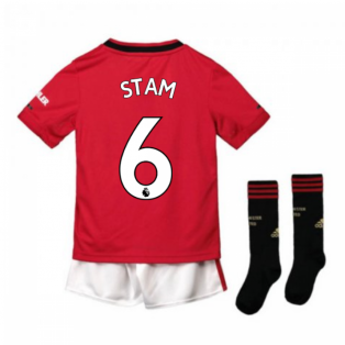 2019-2020 Man Utd Adidas Home Little Boys Mini Kit (STAM 6)