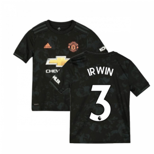 2019-2020 Man Utd Adidas Third Football Shirt (Kids) (IRWIN 3)