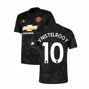 2019-2020 Man Utd Adidas Third Football Shirt (V.NISTELROOY 10)