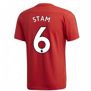 2019-2020 Man Utd Adidas Training Tee (Red) (STAM 6)