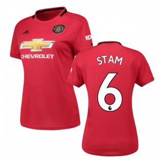 2019-2020 Man Utd Adidas Womens Home Shirt (STAM 6)