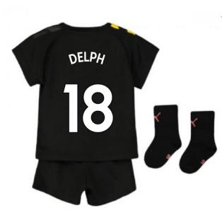 2019-2020 Manchester City Away Baby Kit (DELPH 18)