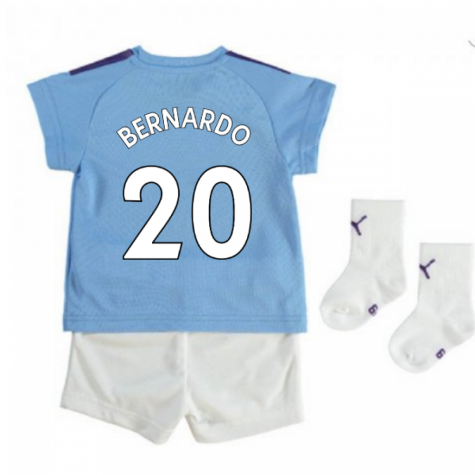 2019-2020 Manchester City Home Baby Kit (BERNARDO 20)