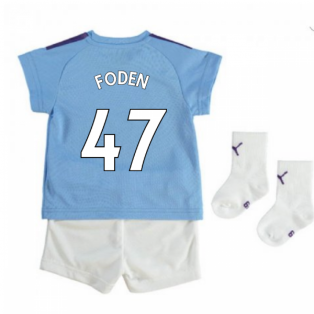 2019-2020 Manchester City Home Baby Kit (FODEN 47)
