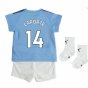 2019-2020 Manchester City Home Baby Kit (LAPORTE 14)