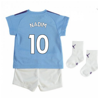 2019-2020 Manchester City Home Baby Kit (Nadim 10)