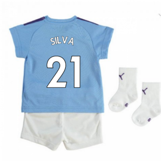 2019-2020 Manchester City Home Baby Kit (SILVA 21)