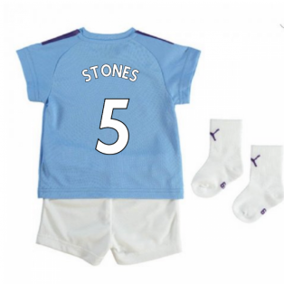 2019-2020 Manchester City Home Baby Kit (STONES 5)