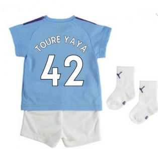 2019-2020 Manchester City Home Baby Kit (TOURE YAYA 42)
