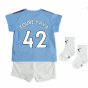 2019-2020 Manchester City Home Baby Kit (TOURE YAYA 42)