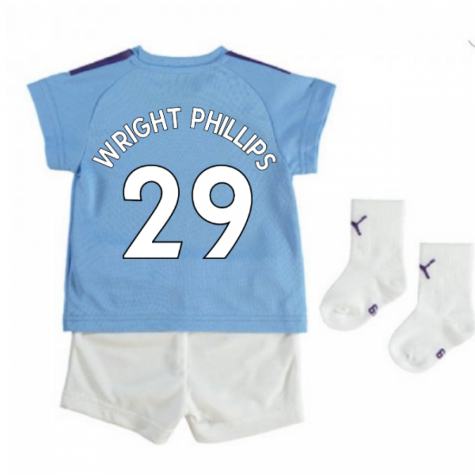 2019-2020 Manchester City Home Baby Kit (WRIGHT PHILLIPS 29)