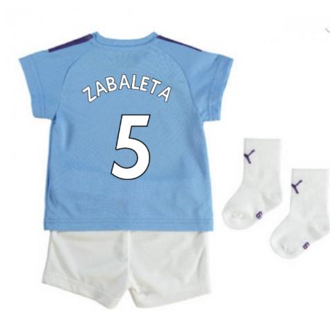2019-2020 Manchester City Home Baby Kit (ZABALETA 5)