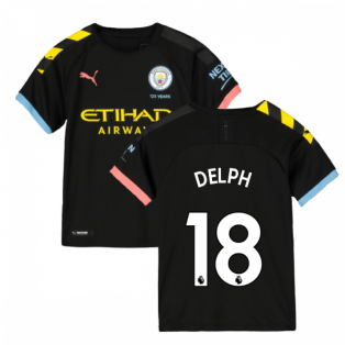 2019-2020 Manchester City Puma Away Football Shirt (Kids) (DELPH 18)