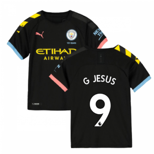 2019-2020 Manchester City Puma Away Football Shirt (Kids) (G JESUS 9)