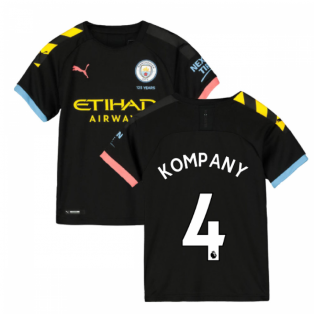 2019-2020 Manchester City Puma Away Football Shirt (Kids) (KOMPANY 4)