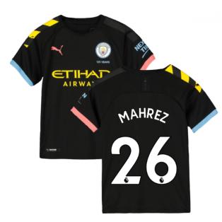 2019-2020 Manchester City Puma Away Football Shirt (Kids) (MAHREZ 26)