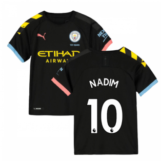 2019-2020 Manchester City Puma Away Football Shirt (Kids) (Nadim 10)