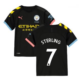 2019-2020 Manchester City Puma Away Football Shirt (Kids) (STERLING 7)