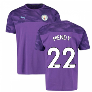 2019-2020 Manchester City Puma Casuals Tee (Purple) (Mendy 22)