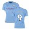 2019-2020 Manchester City Puma Home Authentic Football Shirt (G JESUS 9)