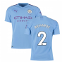 2019-2020 Manchester City Puma Home Authentic Football Shirt (RICHARDS 2)