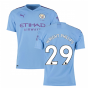 2019-2020 Manchester City Puma Home Authentic Football Shirt (WRIGHT PHILLIPS 29)