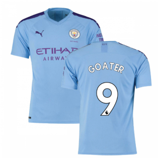 2019-2020 Manchester City Puma Home Football Shirt (GOATER 9)