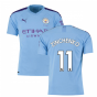 2019-2020 Manchester City Puma Home Football Shirt (ZINCHENKO 11)