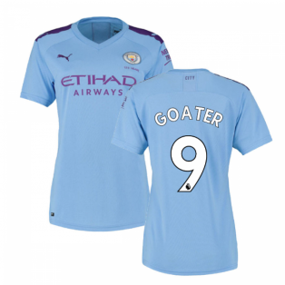 2019-2020 Manchester City Puma Home Ladies Shirt (GOATER 9)