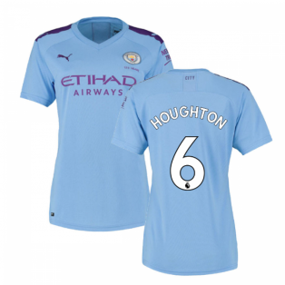 2019-2020 Manchester City Puma Home Ladies Shirt (Houghton 6)