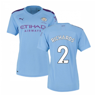 2019-2020 Manchester City Puma Home Ladies Shirt (RICHARDS 2)