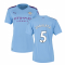 2019-2020 Manchester City Puma Home Ladies Shirt (ZABALETA 5)