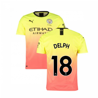2019-2020 Manchester City Puma Third Football Shirt (DELPH 18)