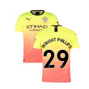 2019-2020 Manchester City Puma Third Football Shirt (WRIGHT PHILLIPS 29)