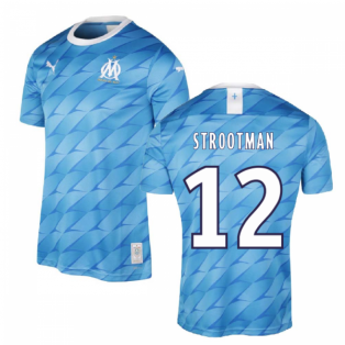 2019-2020 Marseille Away Shirt (Kids) (STROOTMAN 12)