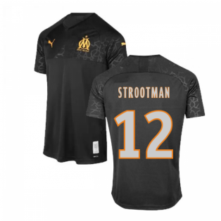 2019-2020 Marseille Third Shirt (Kids) (STROOTMAN 12)