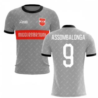 2019-2020 Middlesbrough Away Concept Football Shirt (Assombalonga 9)