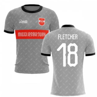 2019-2020 Middlesbrough Away Concept Football Shirt (Fletcher 18)