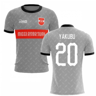 2020-2021 Middlesbrough Away Concept Football Shirt (Yakubu 20) - Kids