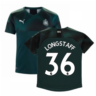 2019-2020 Newcastle Away Football Shirt (Kids) (LONGSTAFF 36)