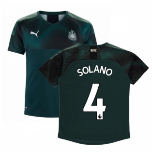 2019-2020 Newcastle Away Football Shirt (Kids) (SOLANO 4)