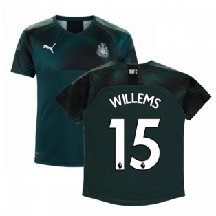 2019-2020 Newcastle Away Football Shirt (Kids) (Willems 15)