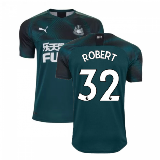 2019-2020 Newcastle Away Football Shirt (ROBERT 32)