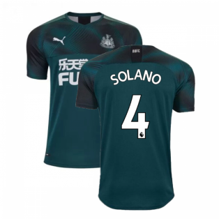 2019-2020 Newcastle Away Football Shirt (SOLANO 4)