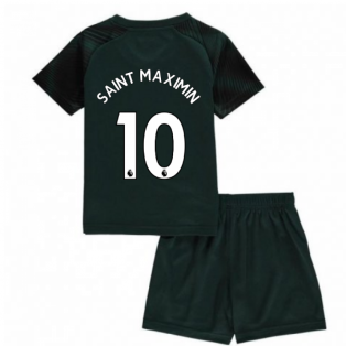 2019-2020 Newcastle Away Mini Kit (Saint Maximin 10)