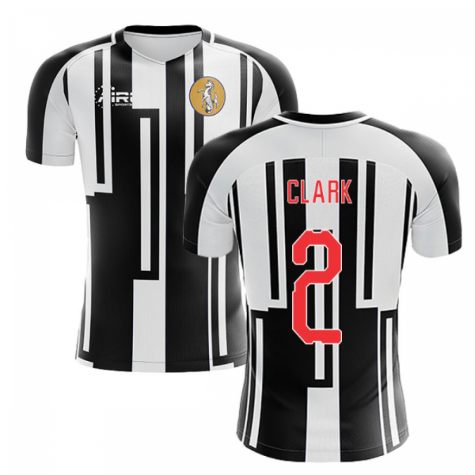 2020-2021 Newcastle Home Concept Football Shirt (CLARK 2)
