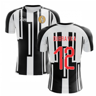 2019-2020 Newcastle Home Concept Football Shirt (DUBRAVKA 12)