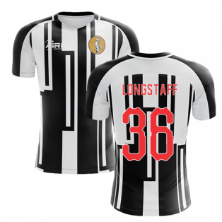 2019-2020 Newcastle Home Concept Football Shirt (LONGSTAFF 36)