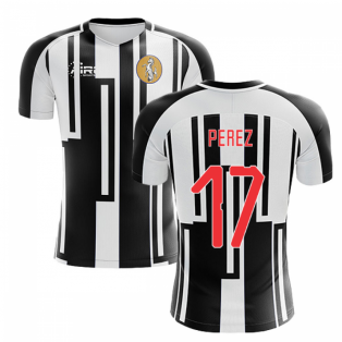 2020-2021 Newcastle Home Concept Football Shirt (PEREZ 17)